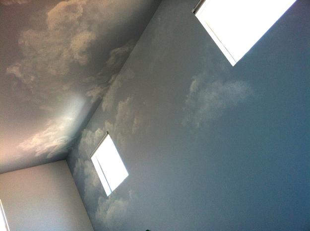 Nuvens para um quarto em São Francisco, California.