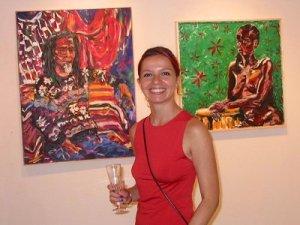 Primeira exposição no SOHO, NY - 2003